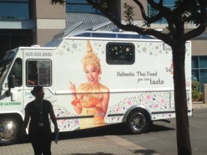 Cisco Building Thai Food Truck DJ & Photo Booth
